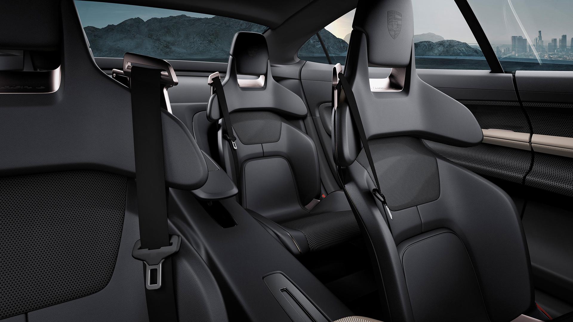 Porsche Mission E concept - seats / sièges