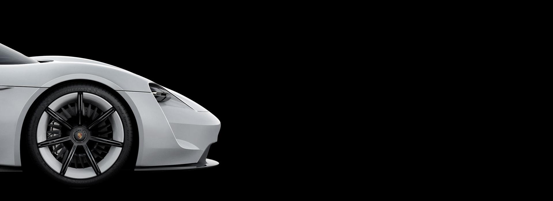 Porsche Mission E concept - wheel / jante