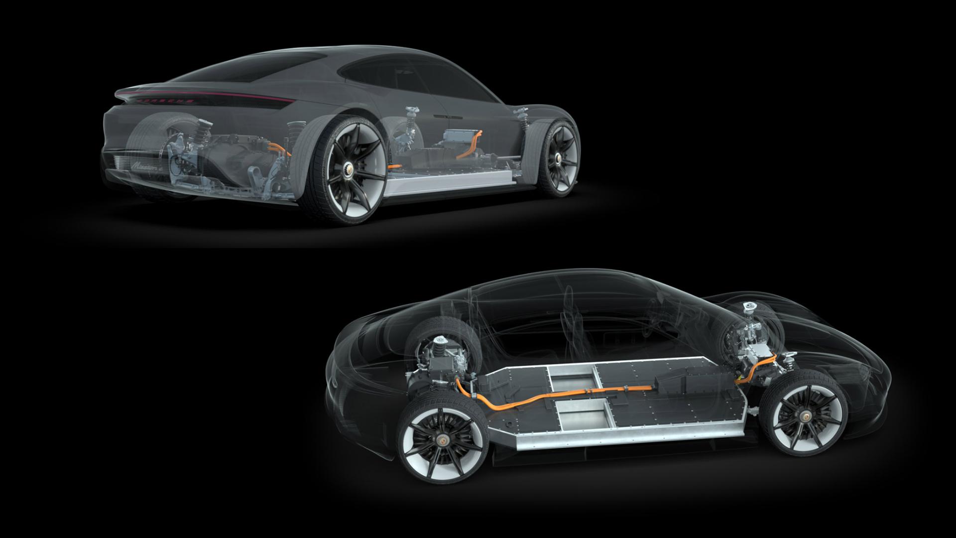 Porsche Mission E concept - power