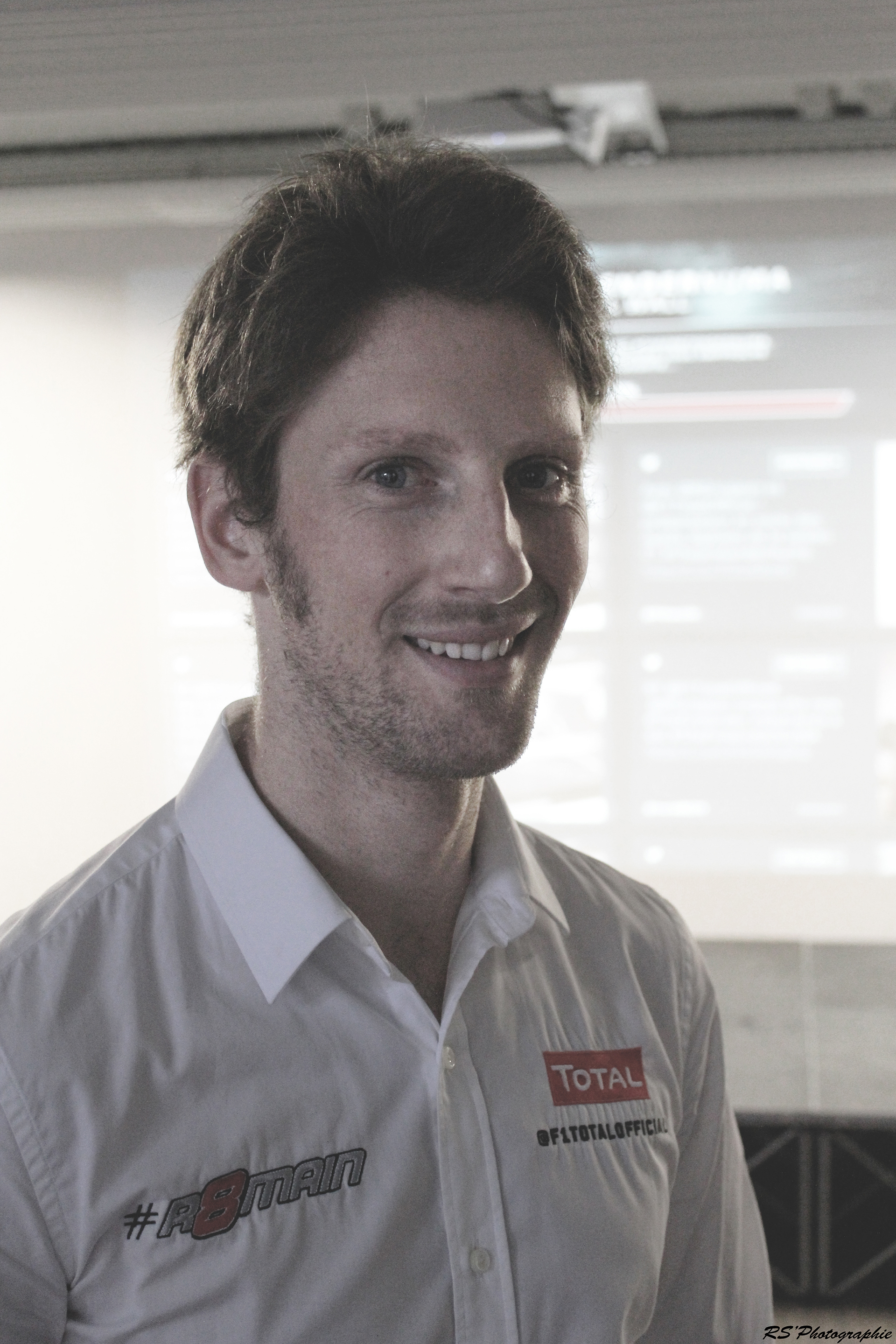 Portrait Romain Grosjean - ThePretender NUMA - Paris 2015 - Photo Arnaud