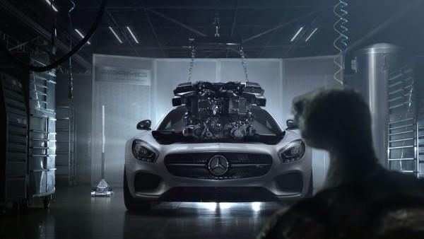 Pub La Tortue découvre l'AMG GT - Fable De La Fontaine - by Mercedes