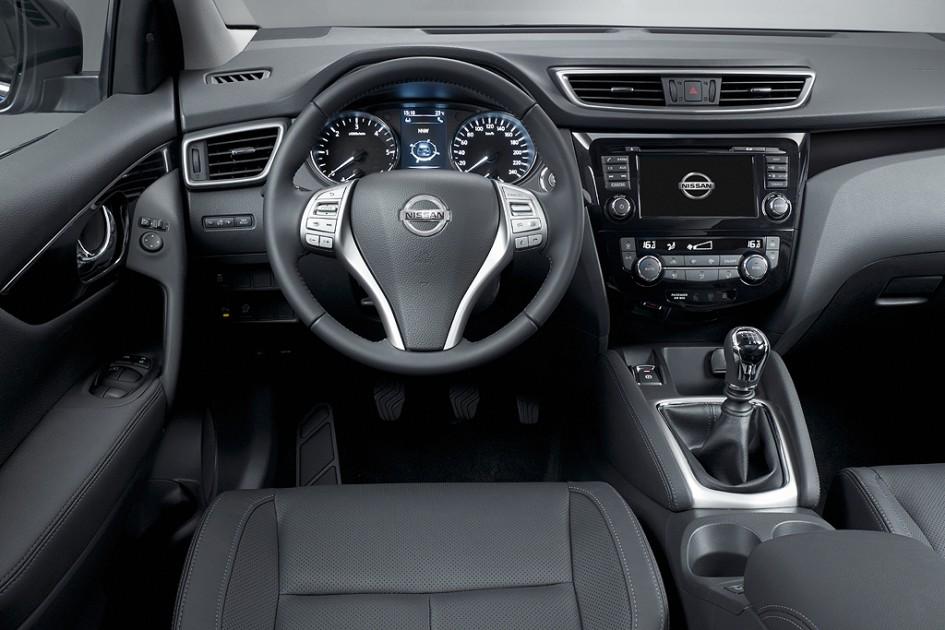 Intérieur Nissan Qashqai 2014