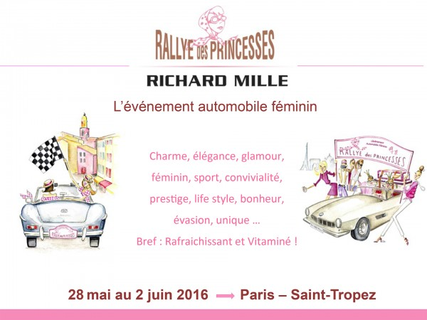 Rallye des Princesses 2016 - cover