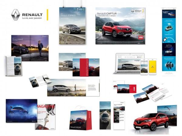 Nouvel univers produit de marque du constructeur Renault