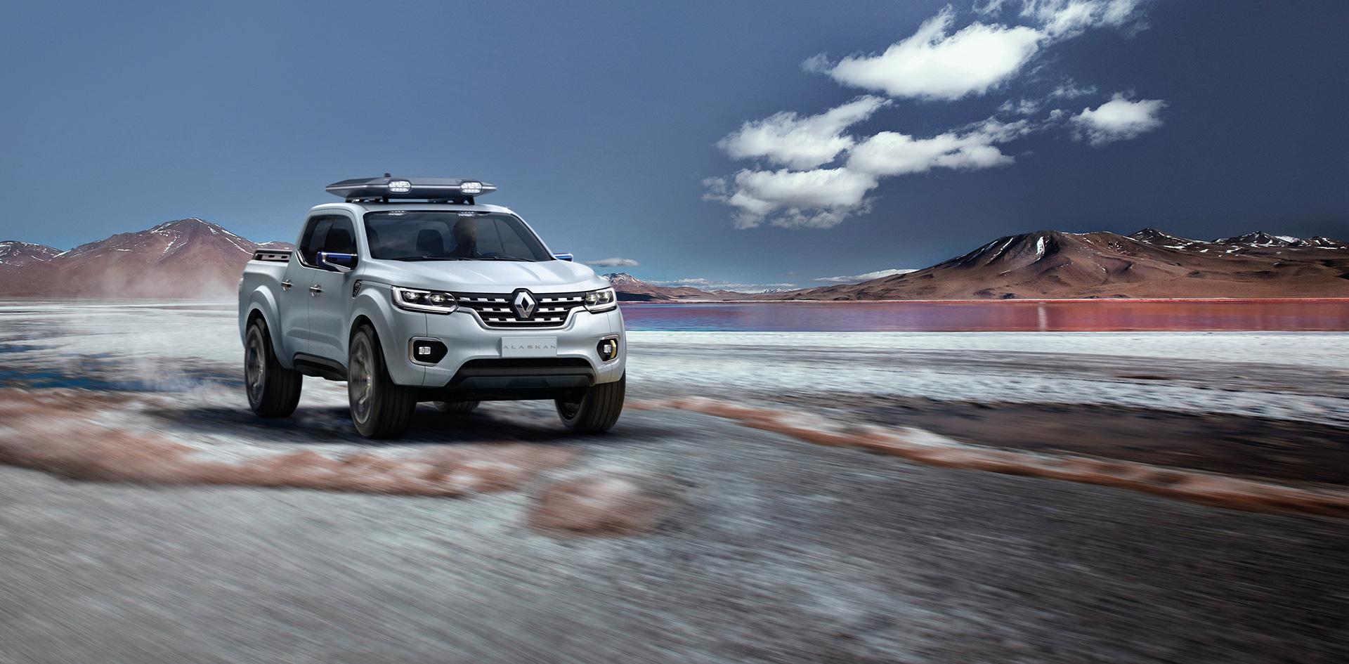 Renault Alaskan - front / avant