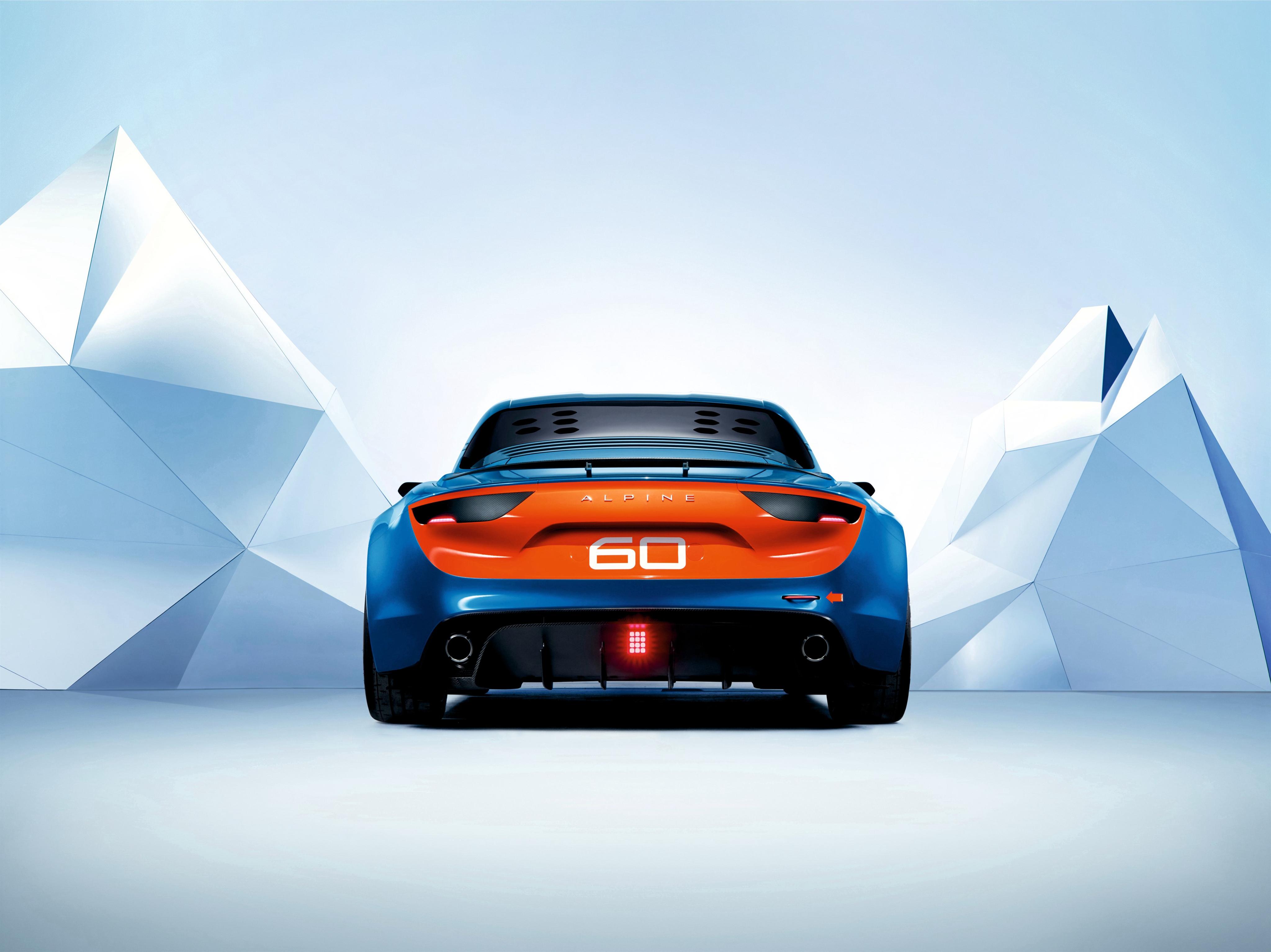 Renault Alpine Celebration Concept - 2015 - face arrière / rear