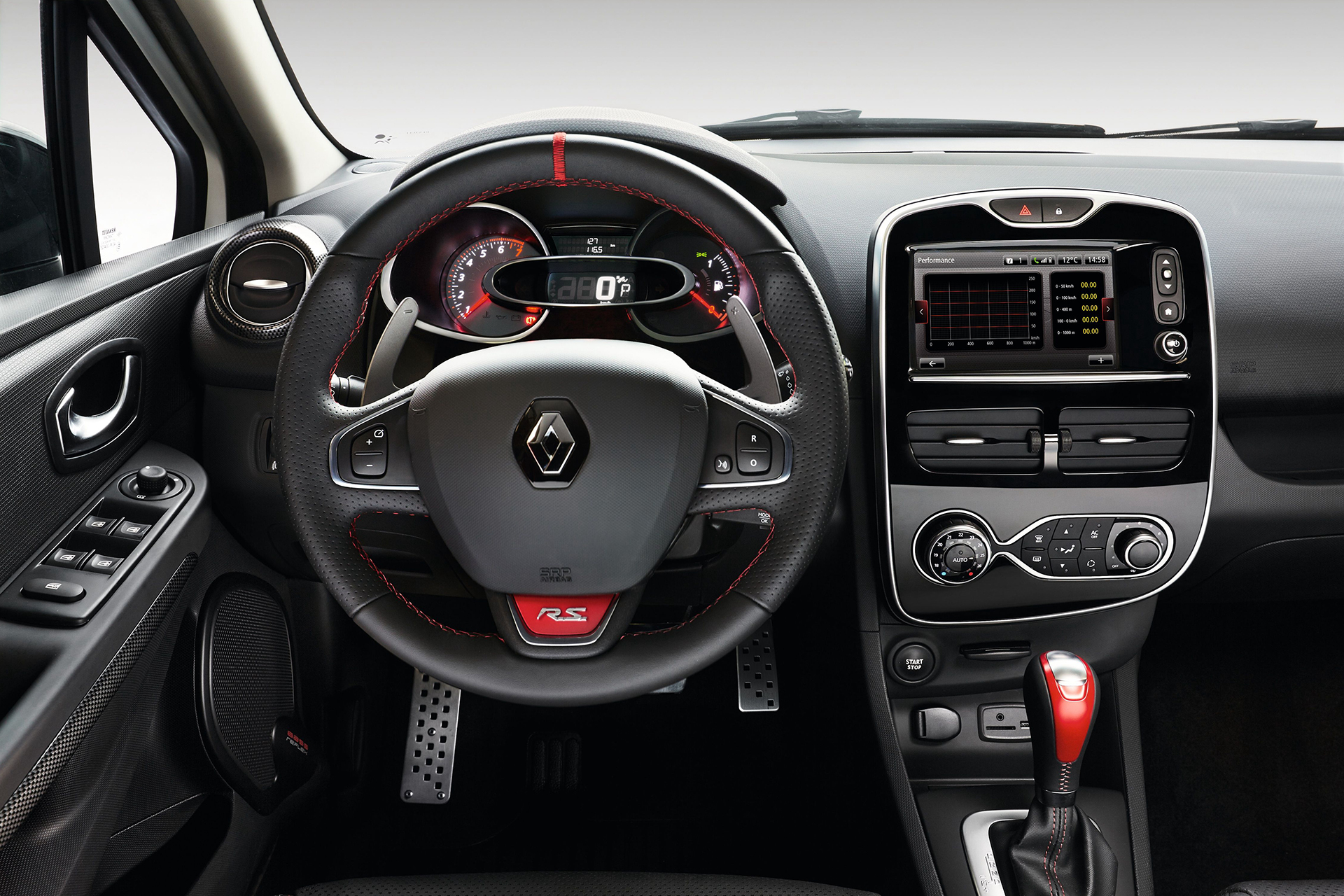 Renault Clio 4 R.S. 220 Trophy - 2015 - volant / racing wheel