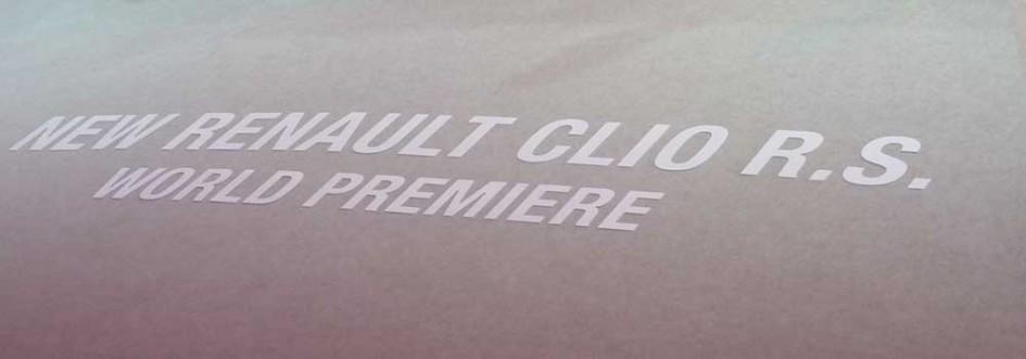 Stand Renault Clio RS Paris 2012
