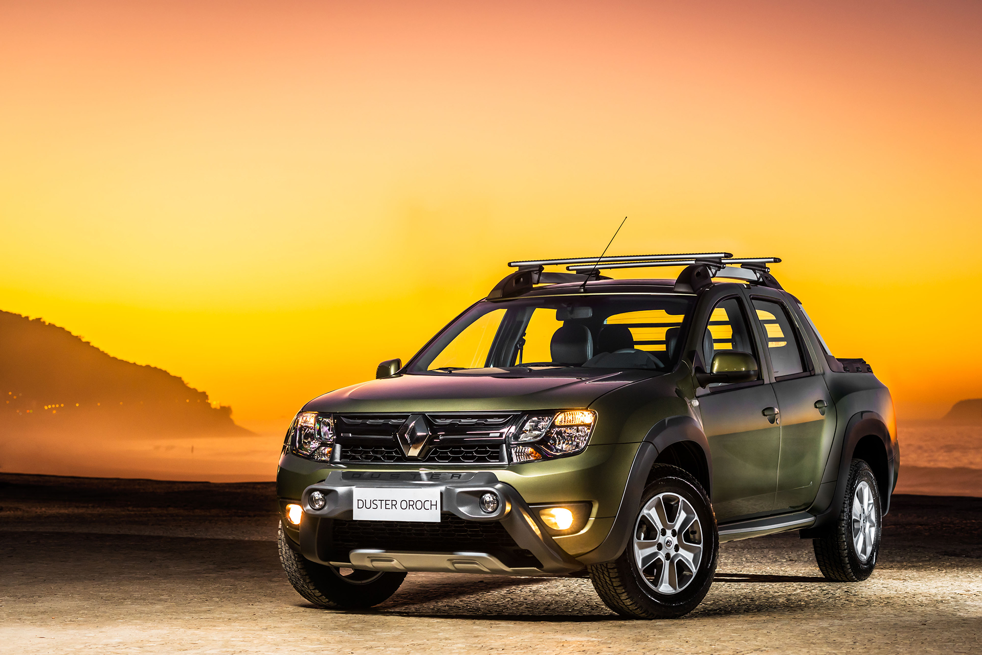 Renault Duster Oroch Pickup - front-face / avant