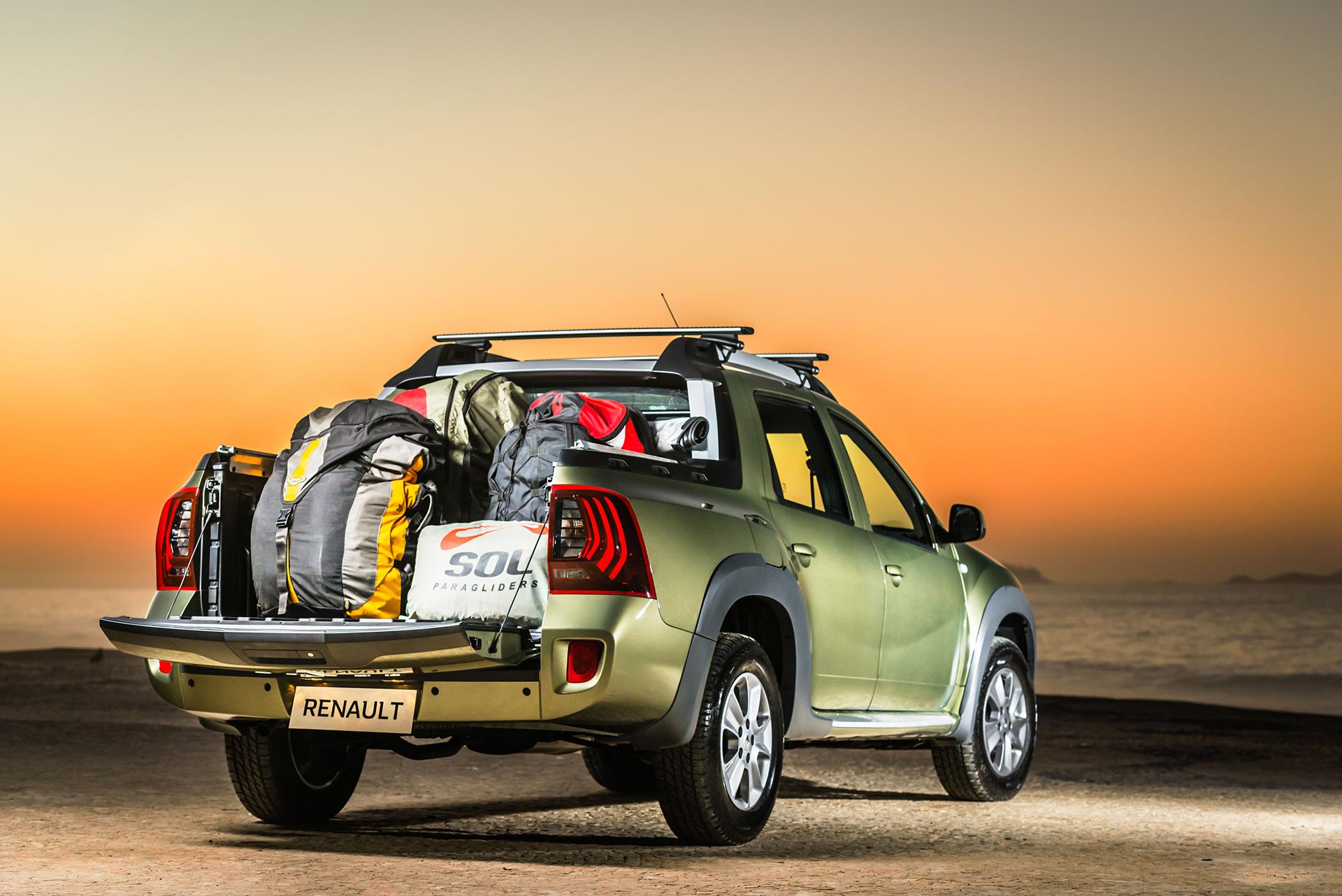 Renault Duster Oroch Pickup - rear / arrière