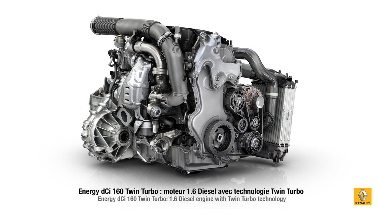 moteur Renault Energy dCi 160