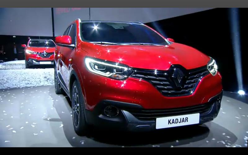 Renault Kadjar - reveal live