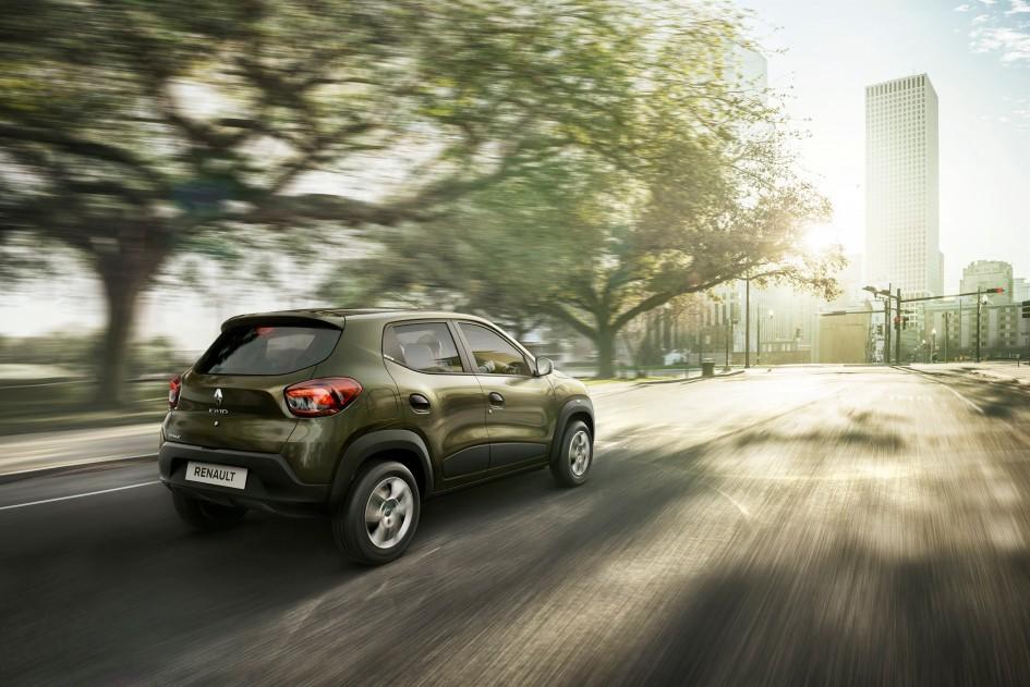 Renault Kwid 2015 - arrière / rear