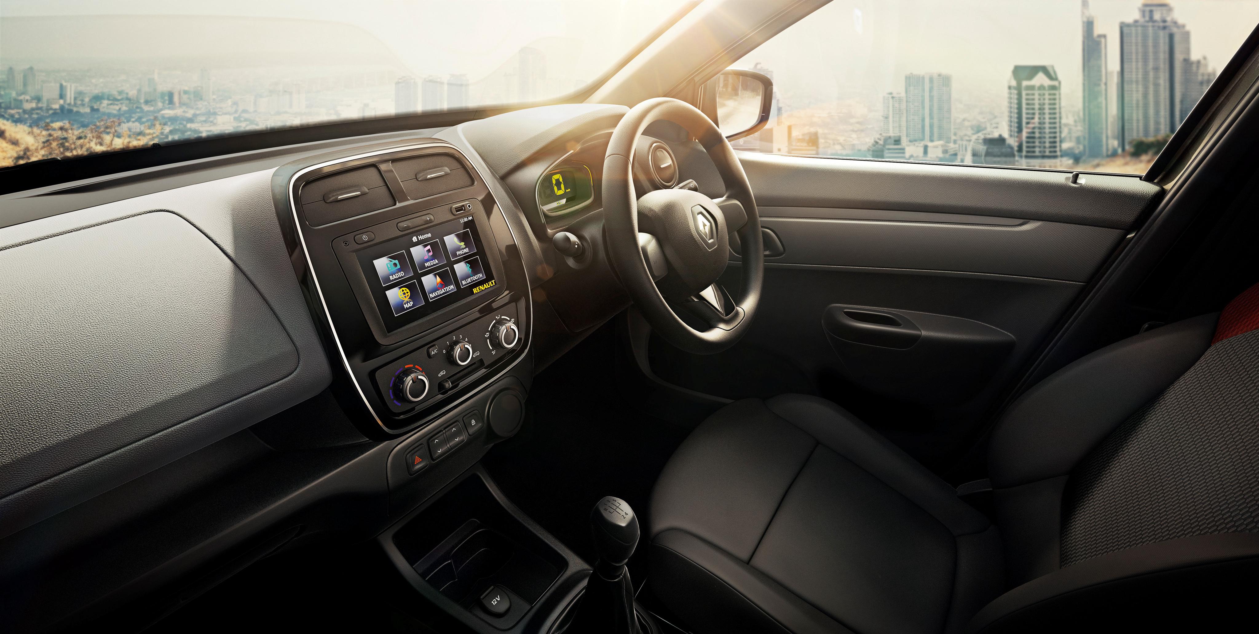Renault Kwid 2015 - intérieur / interior