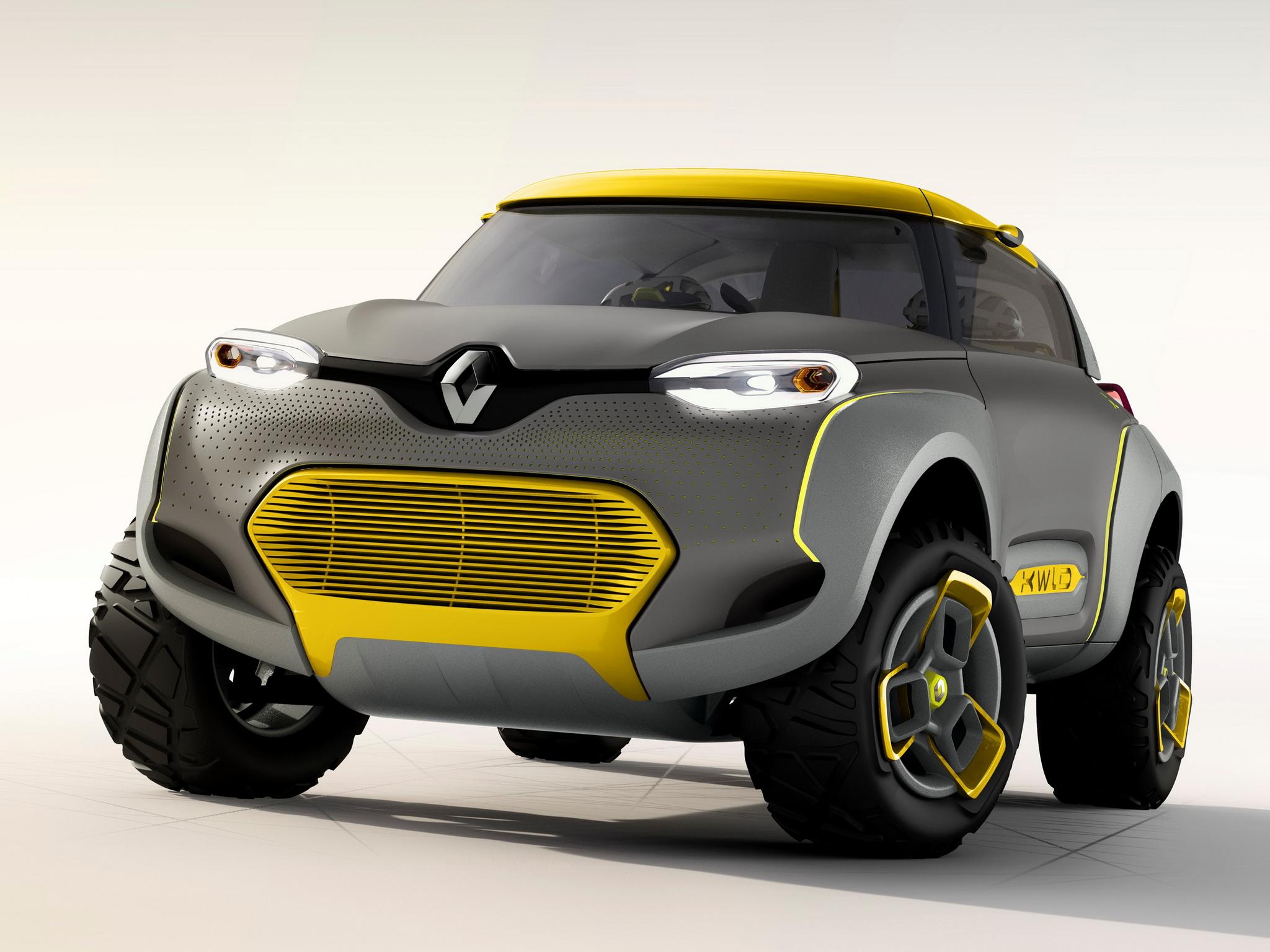 Renault Kwid concept 2014 - avant / front