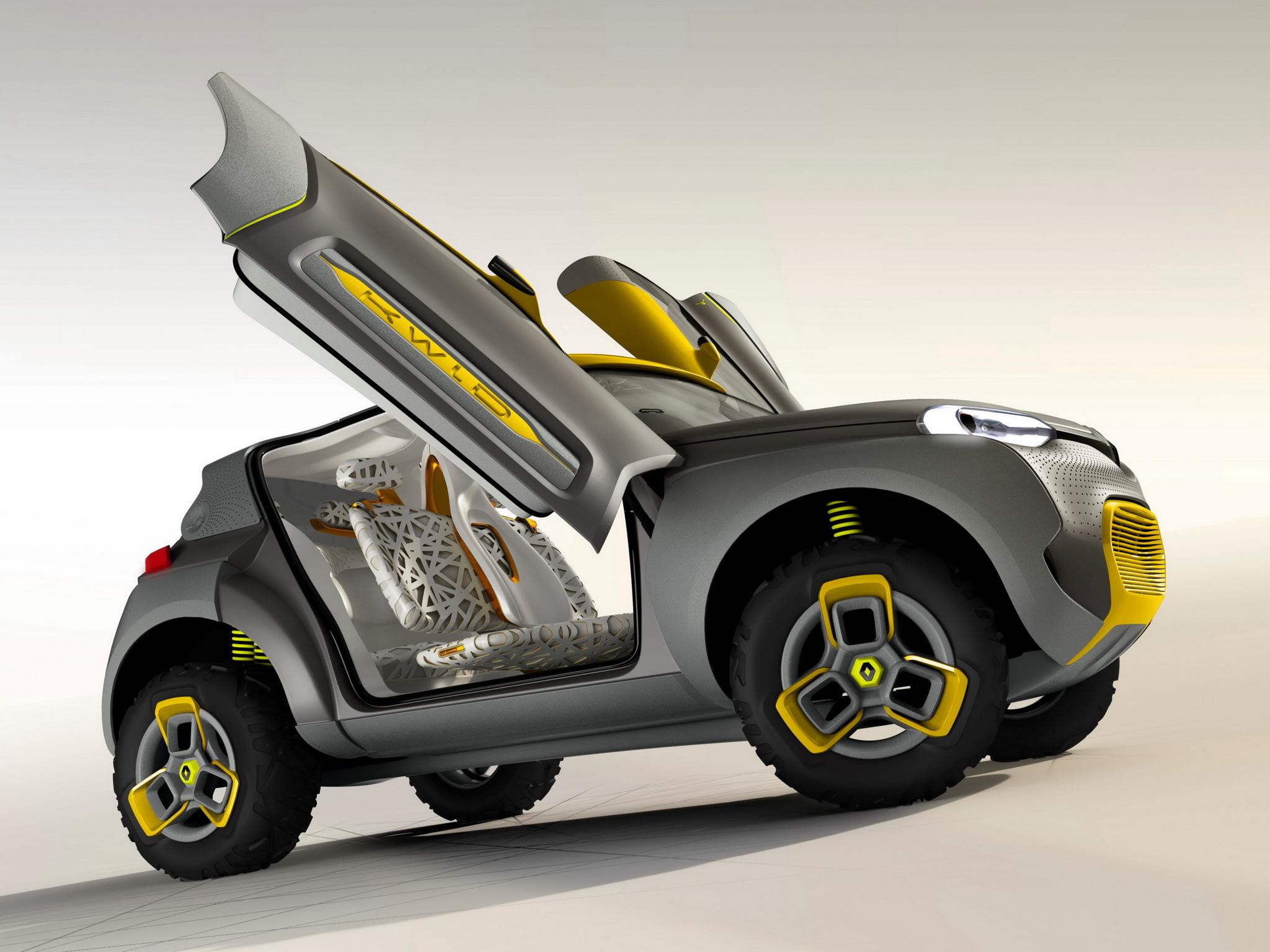 Renault Kwid concept 2014 - portes ouvertes / open doors