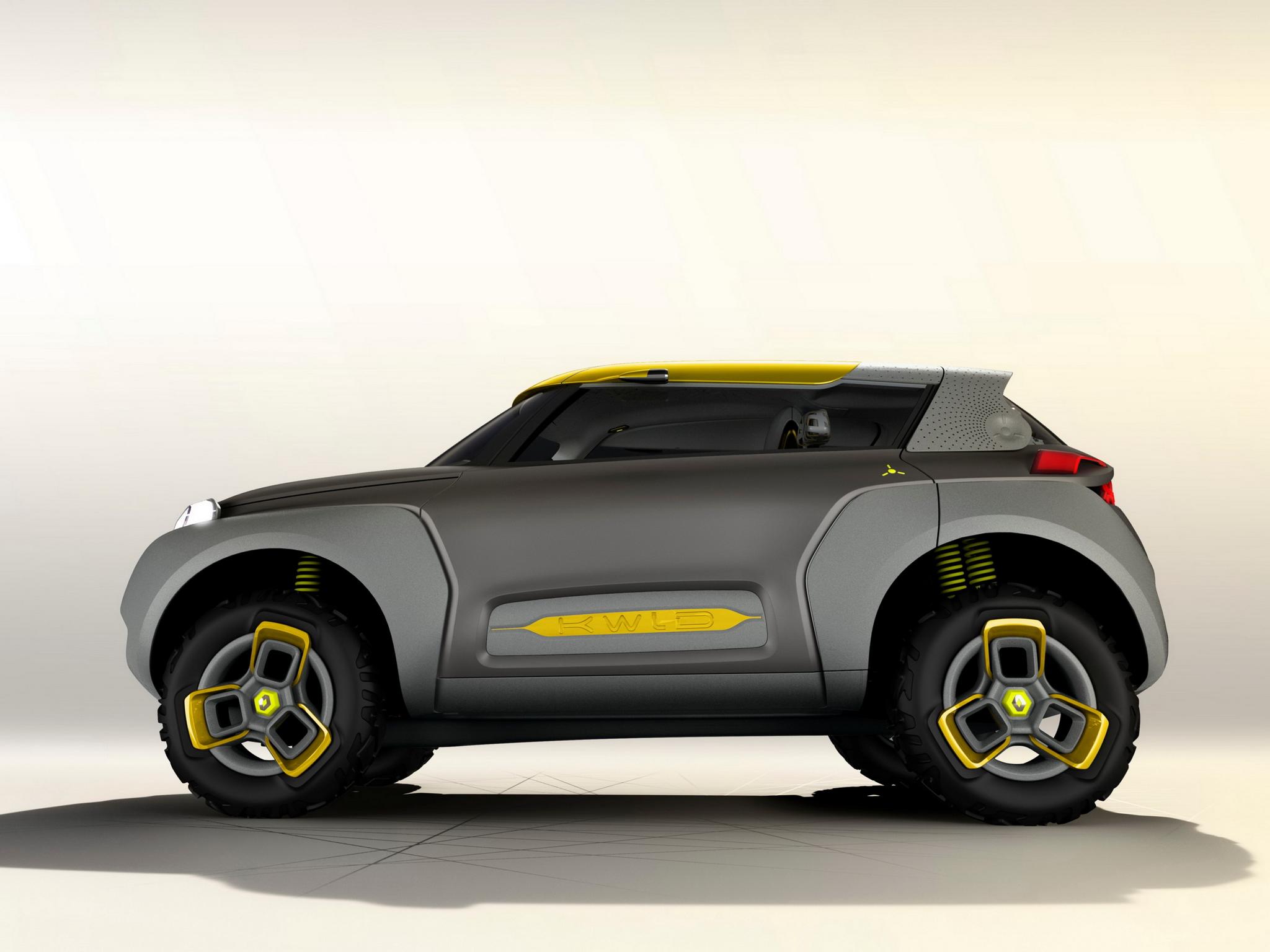 Renault Kwid concept 2014 - profil / side-face