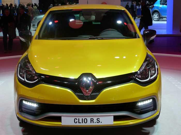 Renault Nouvelle Clio RS Paris 2012