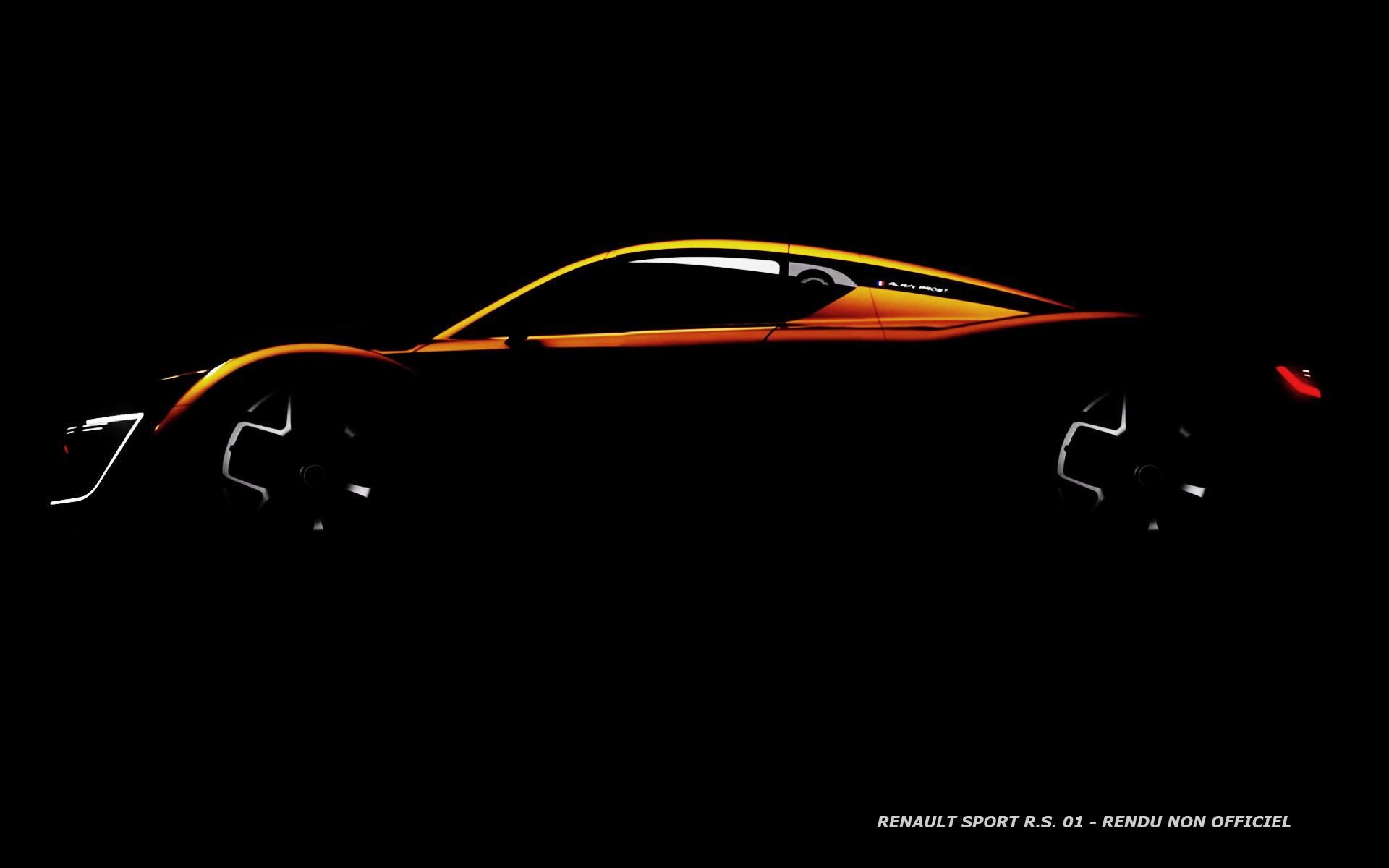 Renault Sport R.S. 01 - Wallpaper - Image non officielle