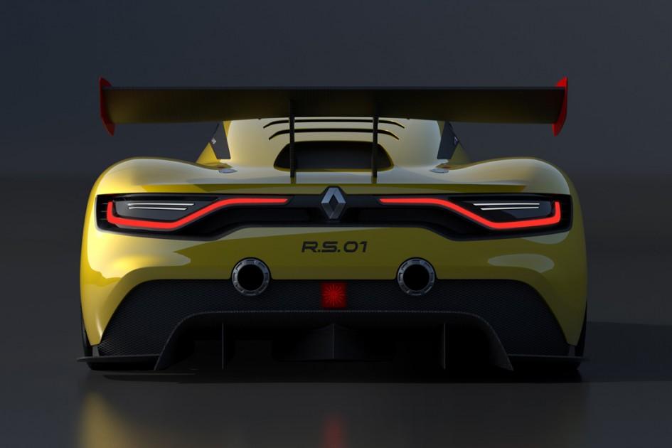 Arrière - Renault Sport R.S. 01