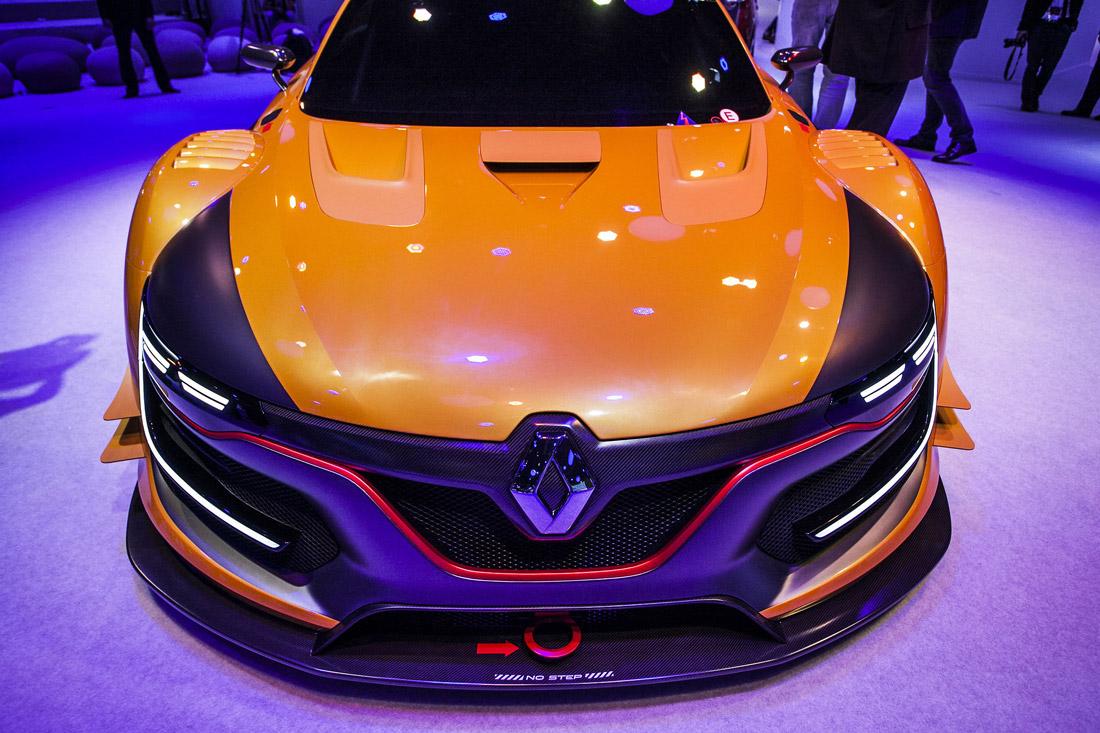 Face  avant - Renault Sport R.S. 01 - MIAS 2014