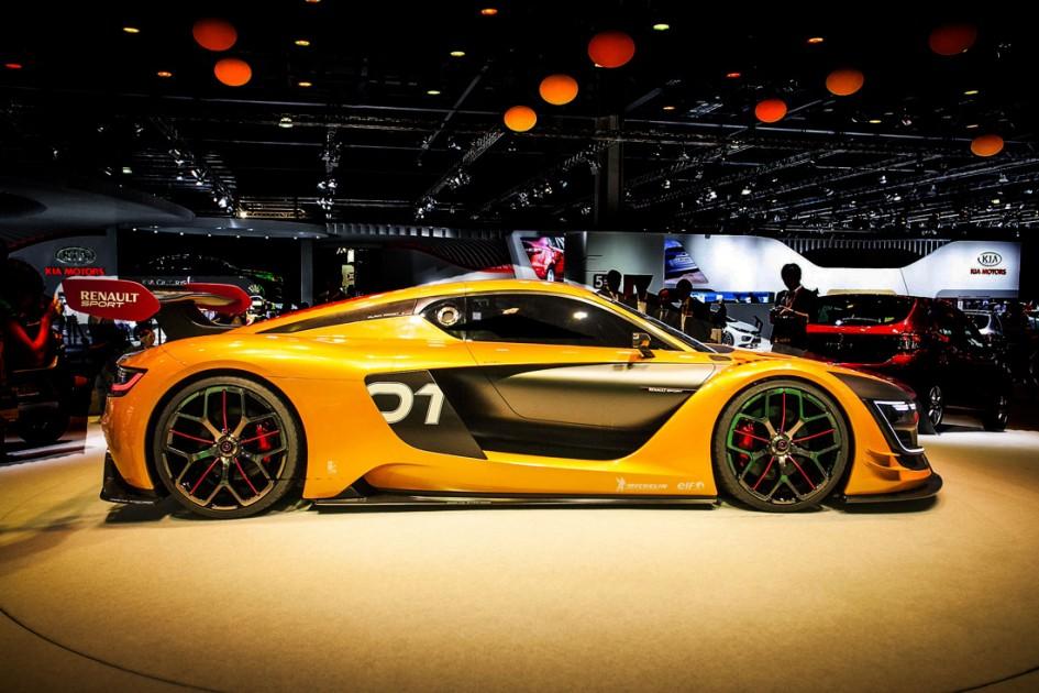 Profil - Renault Sport R.S. 01 - MIAS 2014