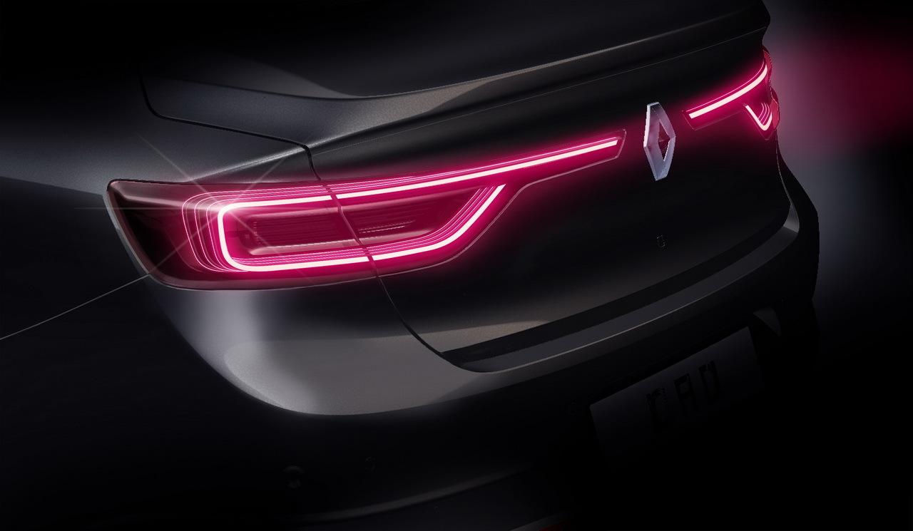 Renault Talisman - 2015 - arrière / rear - dessin / sketch - by Stefano Bolis