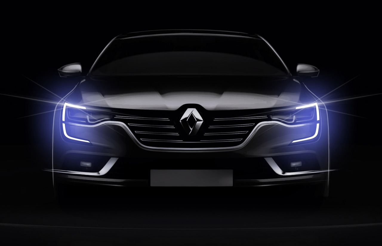 Renault Talisman - 2015 - avant / front - dessin / sketch - by Stefano Bolis