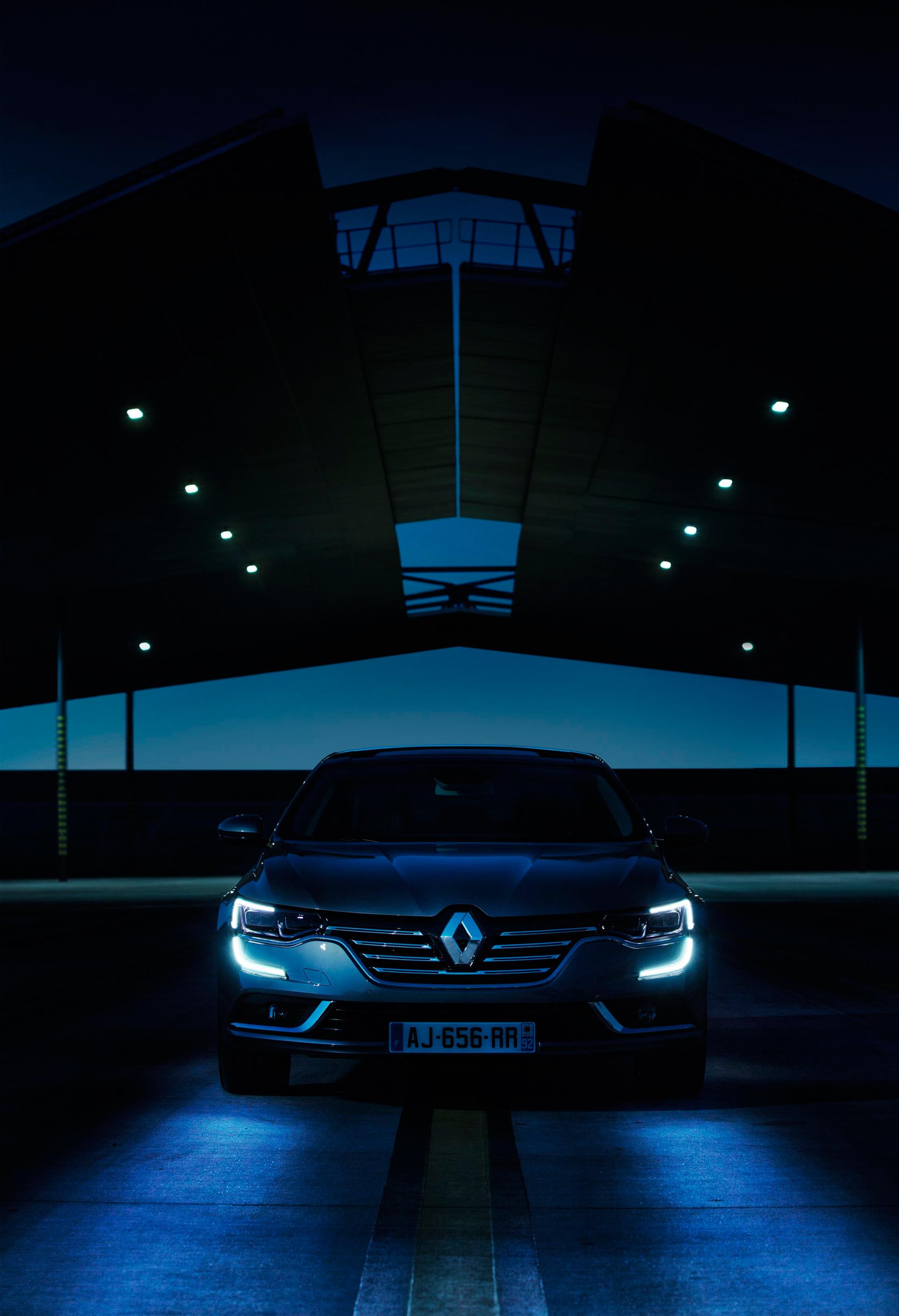 Renault Talisman - 2015 - feux avant / front lights