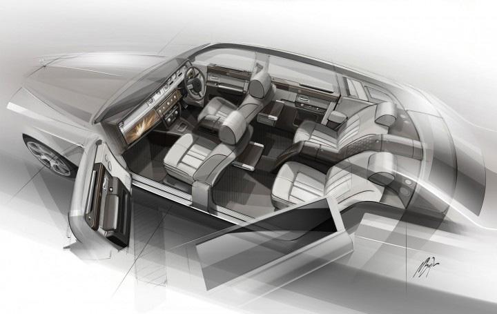 Dessin - Wraith - Bespoke - Rolls Royce