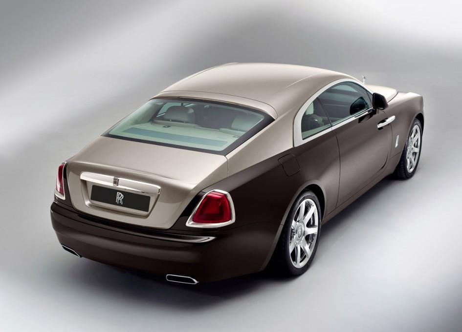 Rolls Royce Wraith - Arrière