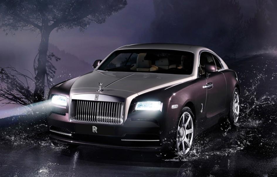 Rolls Royce Wraith - Avant