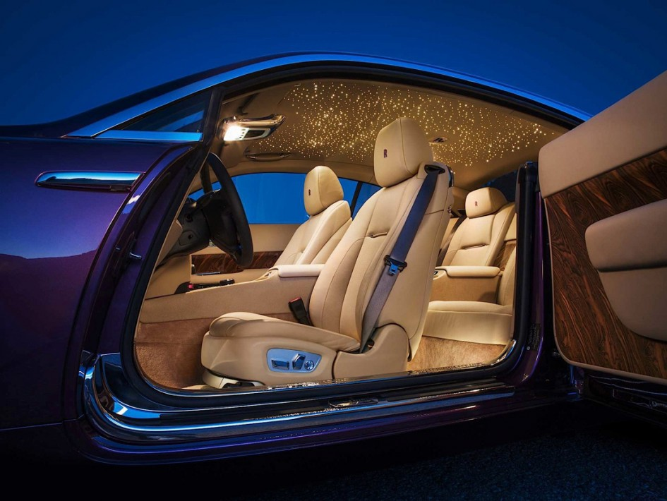 Rolls Royce Wraith - Style intérieur
