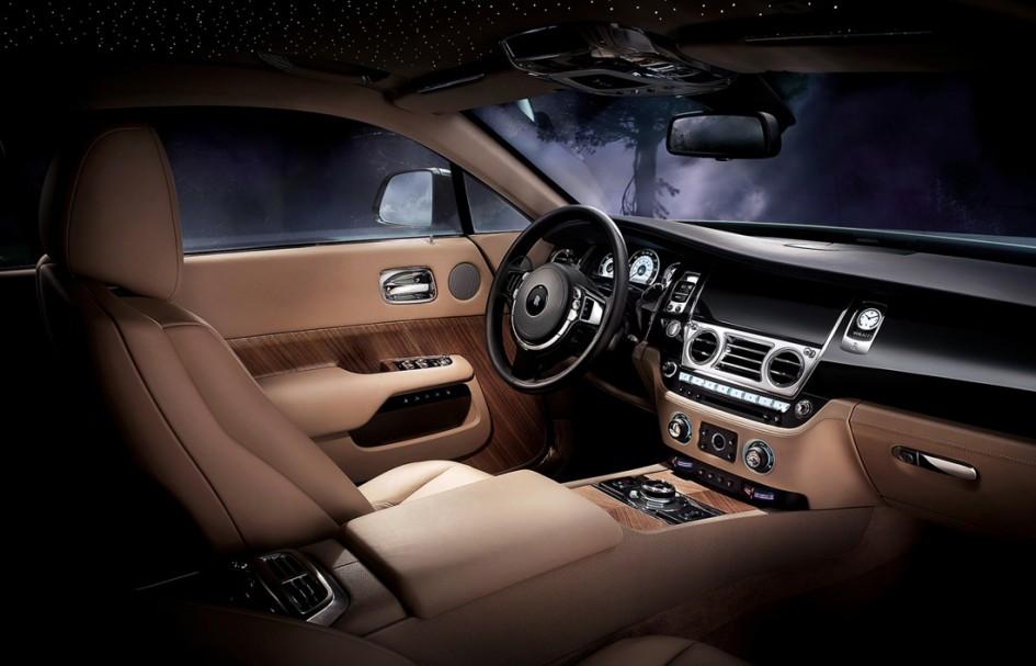 Rolls Royce Wraith - Intérieur