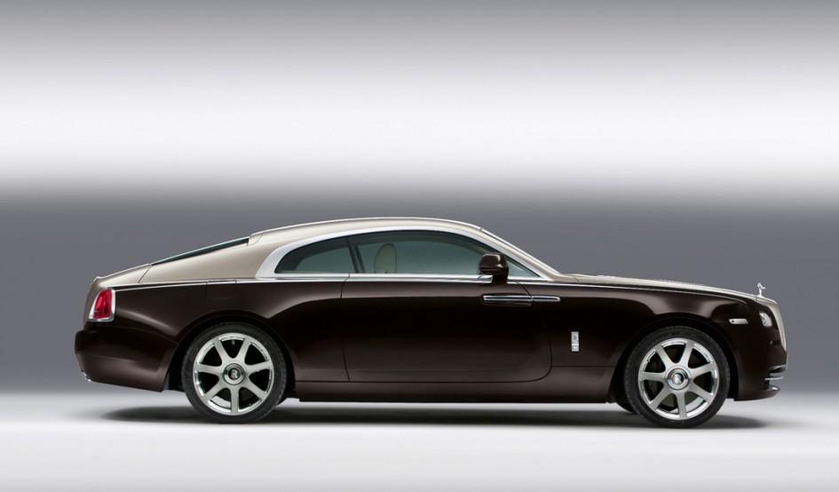Rolls Royce Wraith - Profil