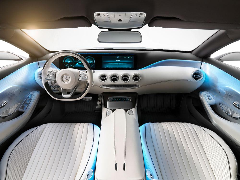 Intérieur Mercedes-Benz Concept S-Class Coupé