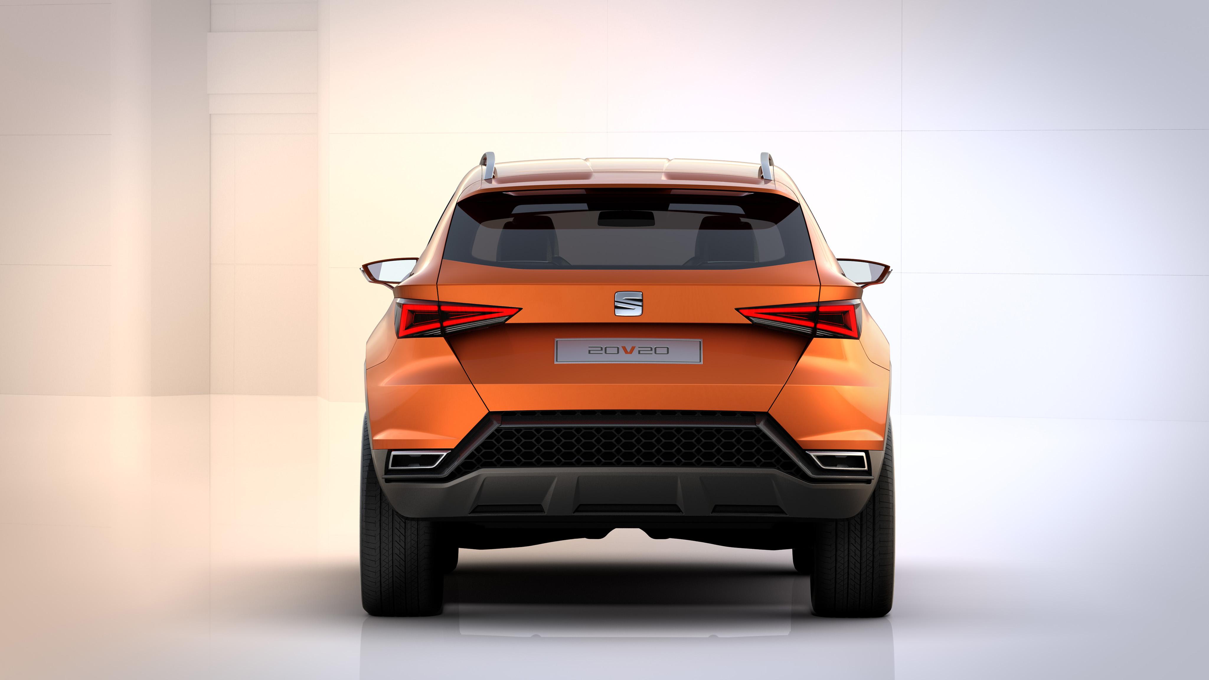 concept-car SEAT 20V20 - face arrière