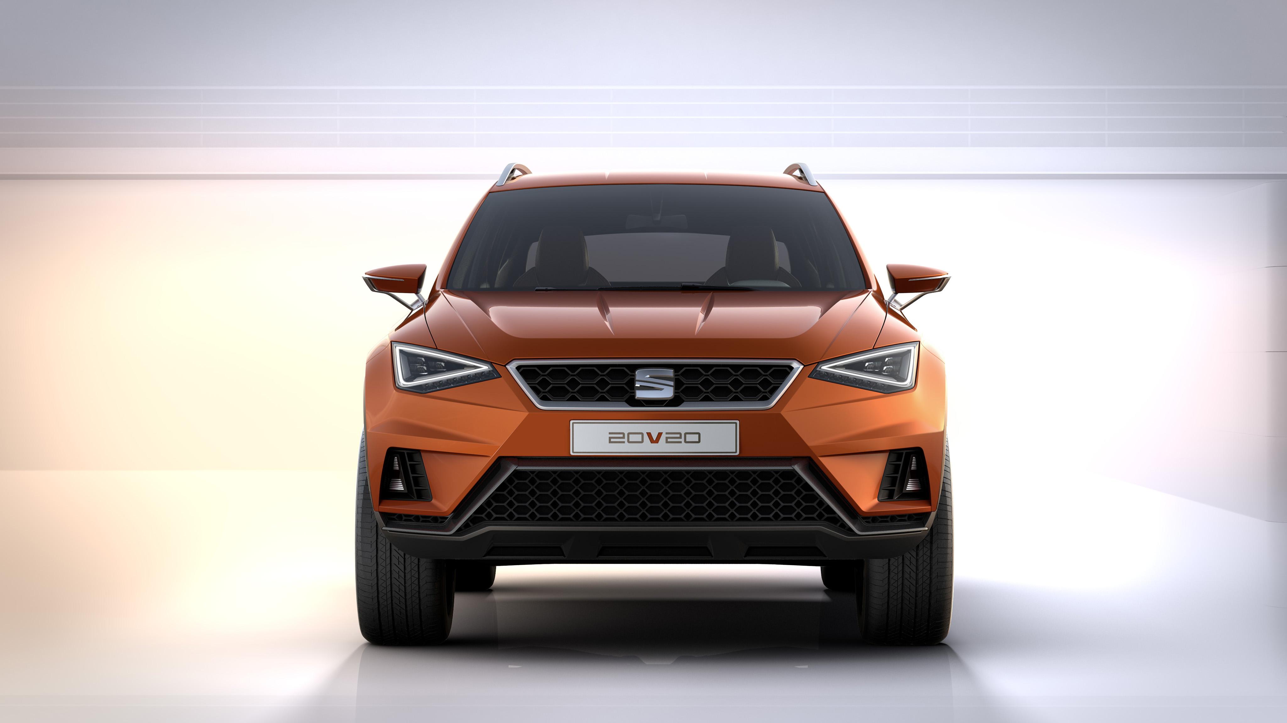 concept-car SEAT 20V20 - face avant