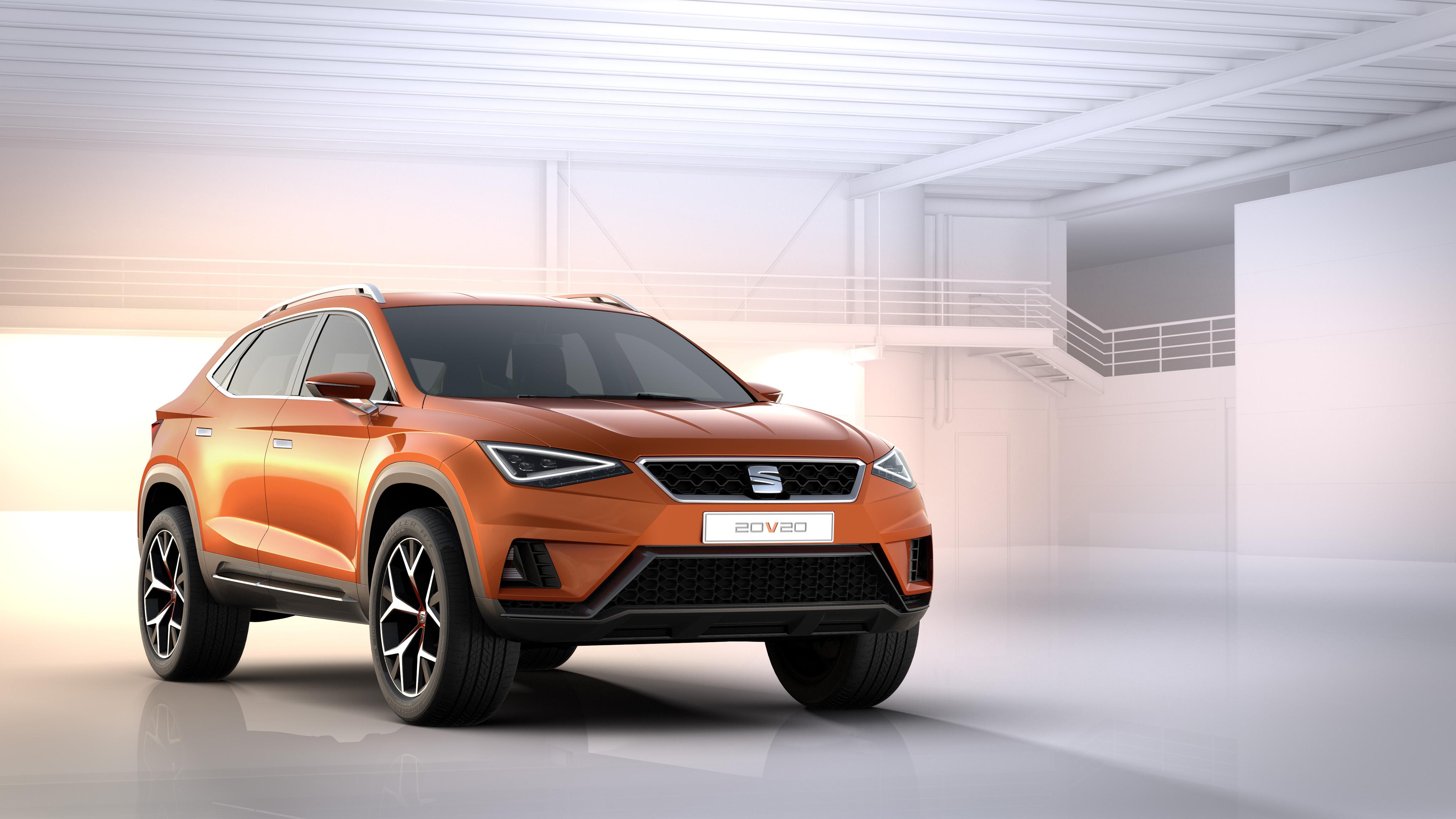concept-car SEAT 20V20 - profil avant