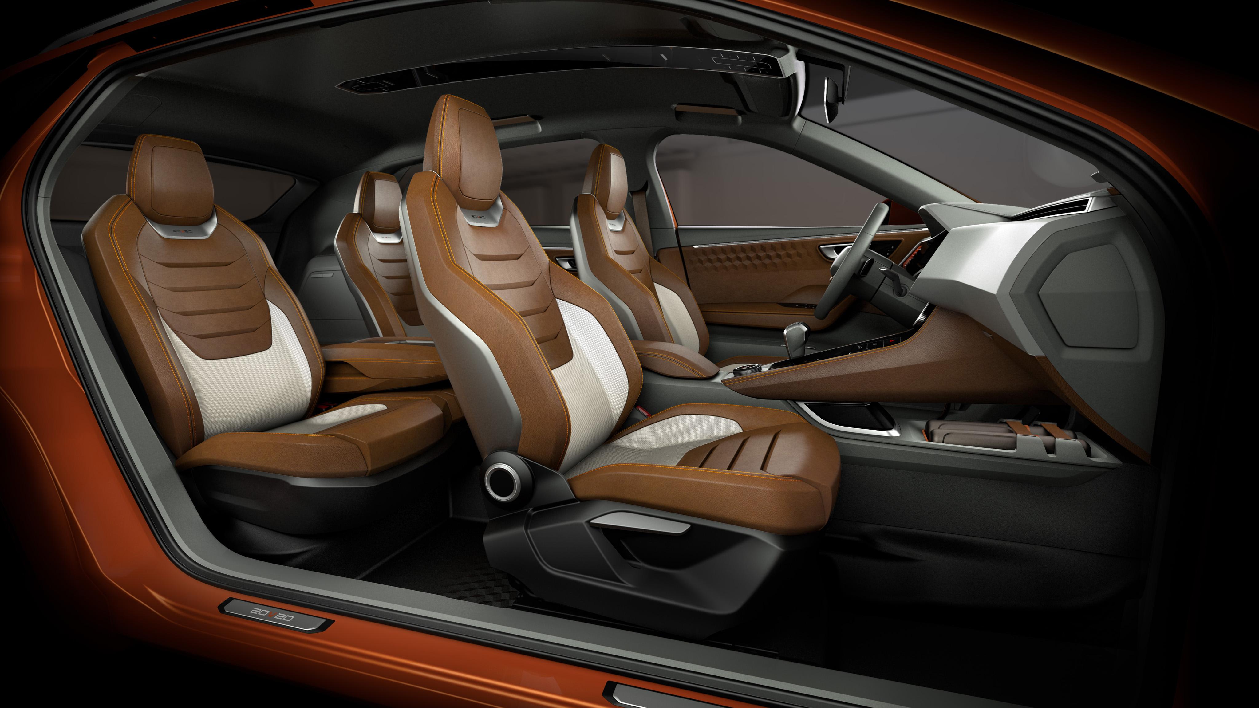 concept-car SEAT 20V20 - sièges