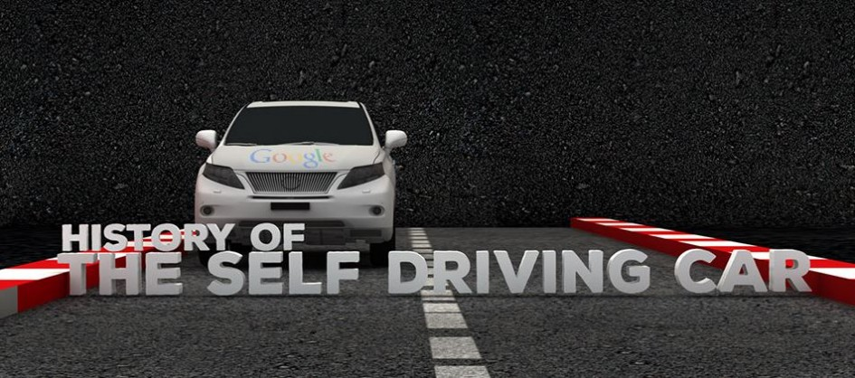 History of the Self Driving Car - cover
