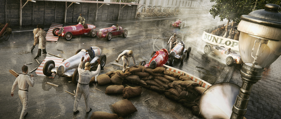 "The ""Rainmaster"" Reigns Monaco – 13 April 1936"