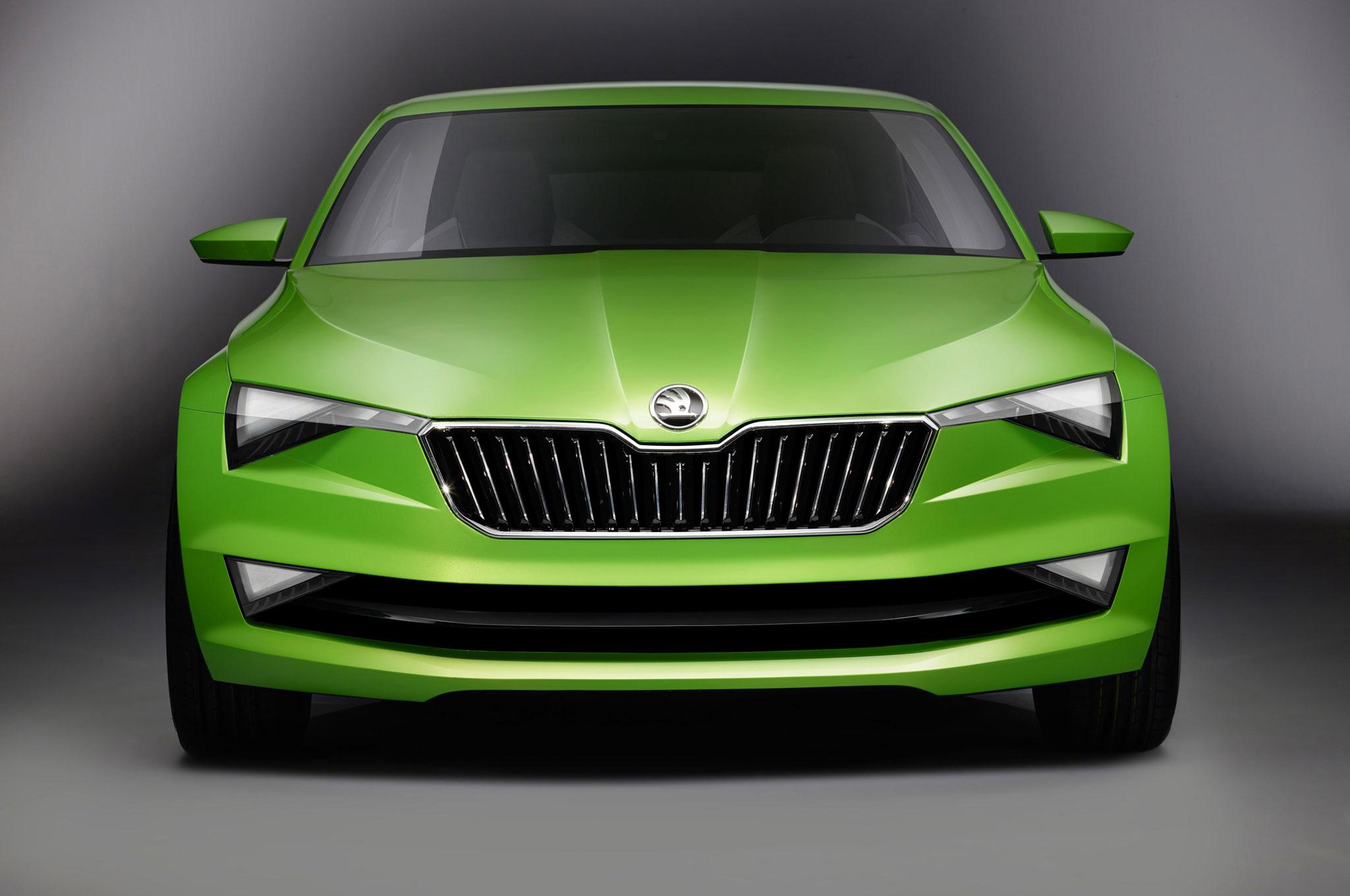 Škoda VisionC - avant