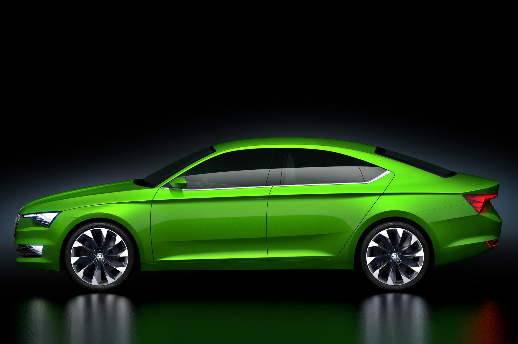 Škoda VisionC - profil