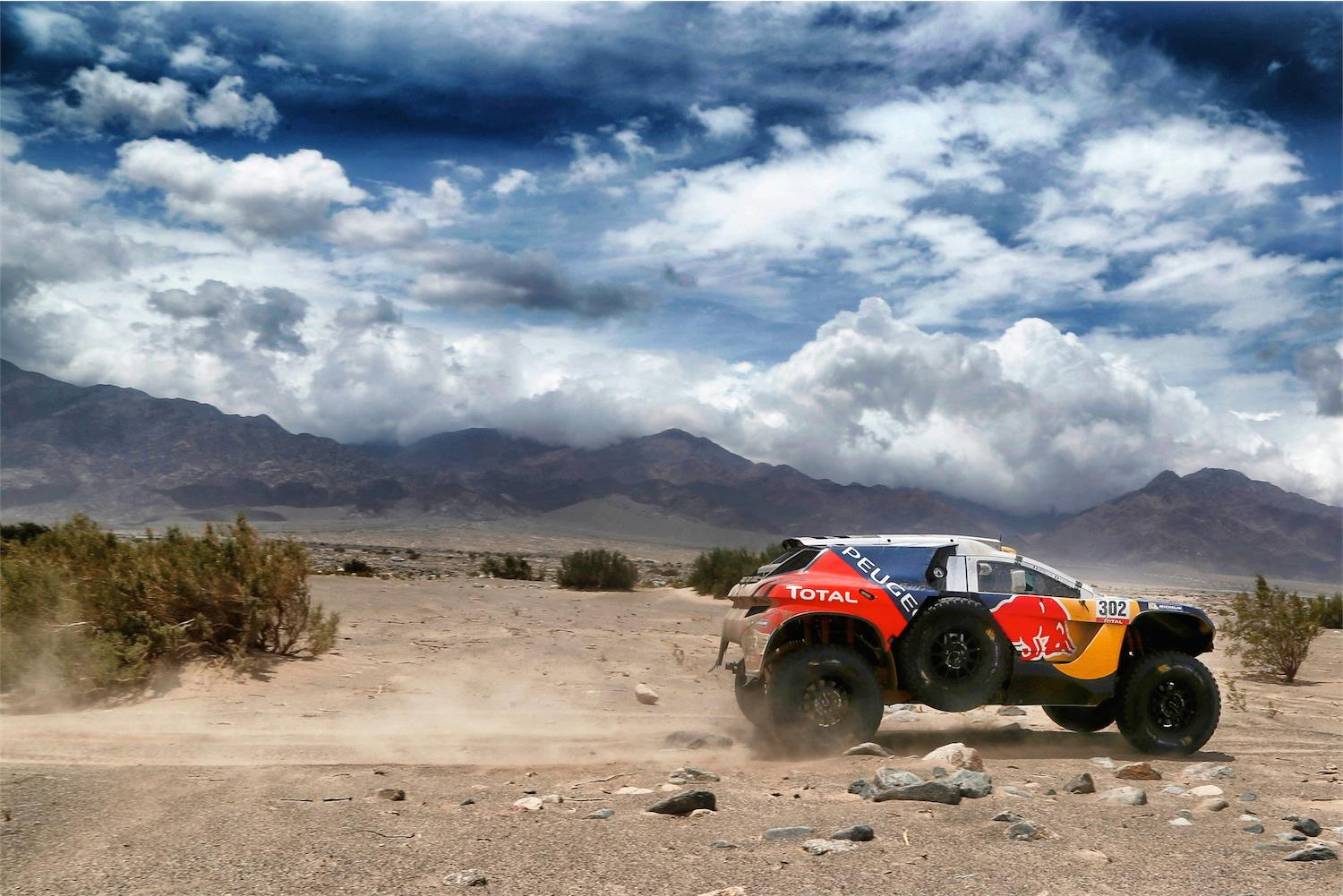 sky road - Dakar 2016 - photo by A Lavadinho - A Vialatte