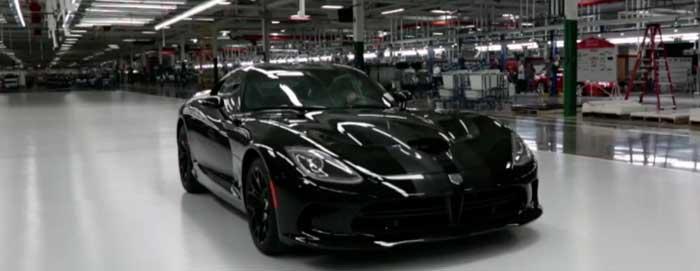 SRT Viper Usine Chrysler