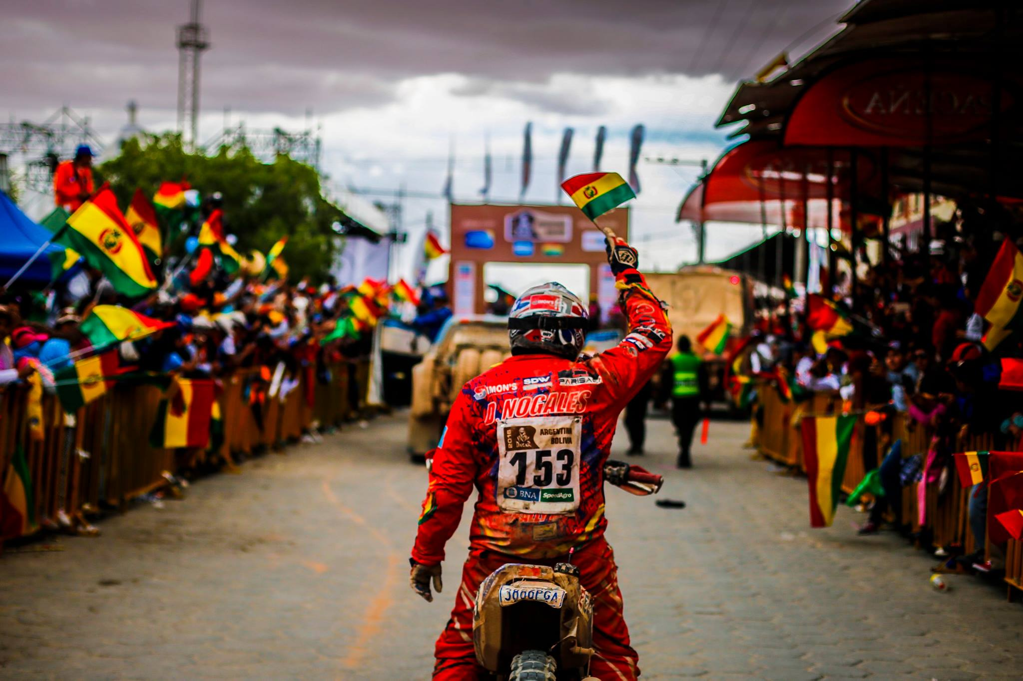 start country - Dakar 2016 - photo by A Lavadinho - A Vialatte