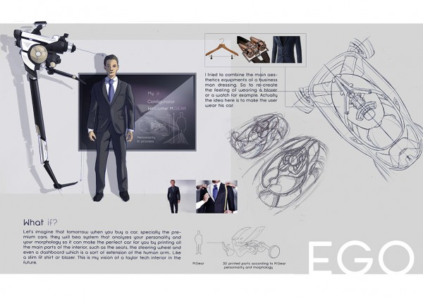 Strate Ecole Design-Automobile - Brieuc Masson - sketch - Projet EGO
