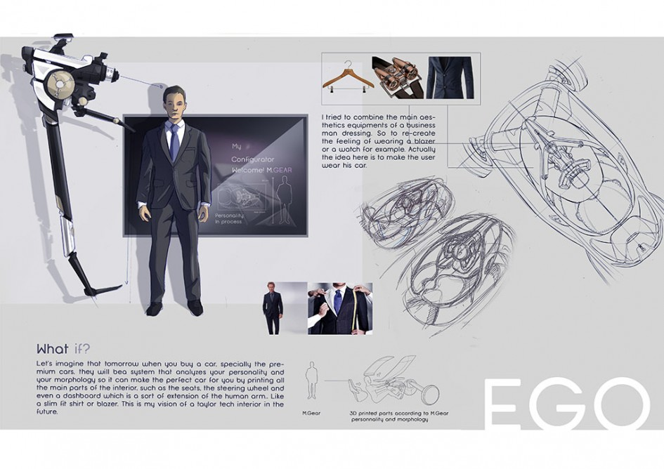 Strate Ecole Design-Automobile - Brieuc Masson - sketch - Projet EGO