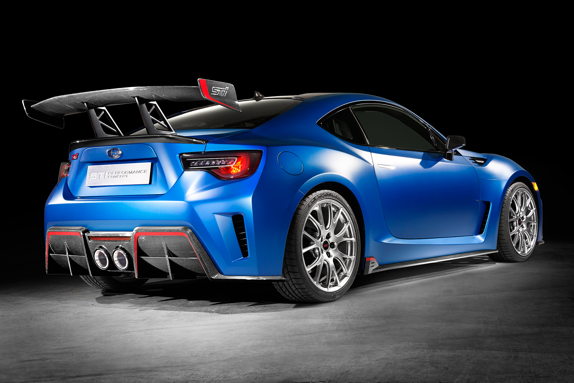 Subaru BRZ STI Performance Concept - rear / arrière